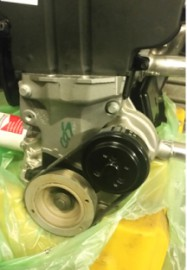 Ford ZETEC Hard Anodized Reverse Water Pump Impeller for Water Directional Change